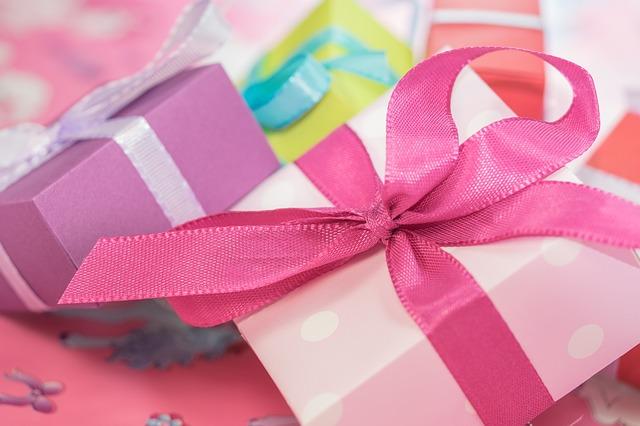 プレゼントの包装