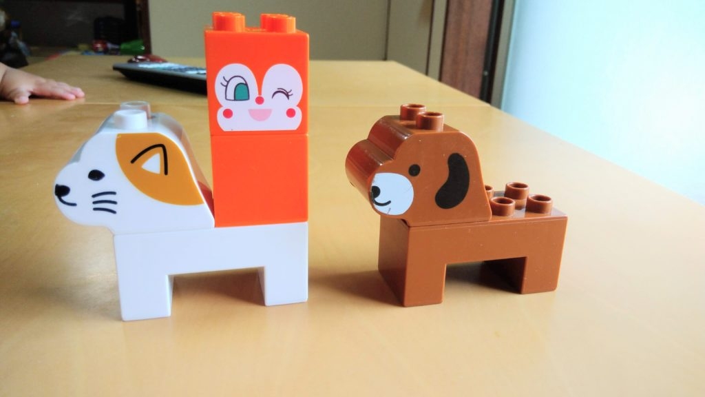 犬と猫のブロック