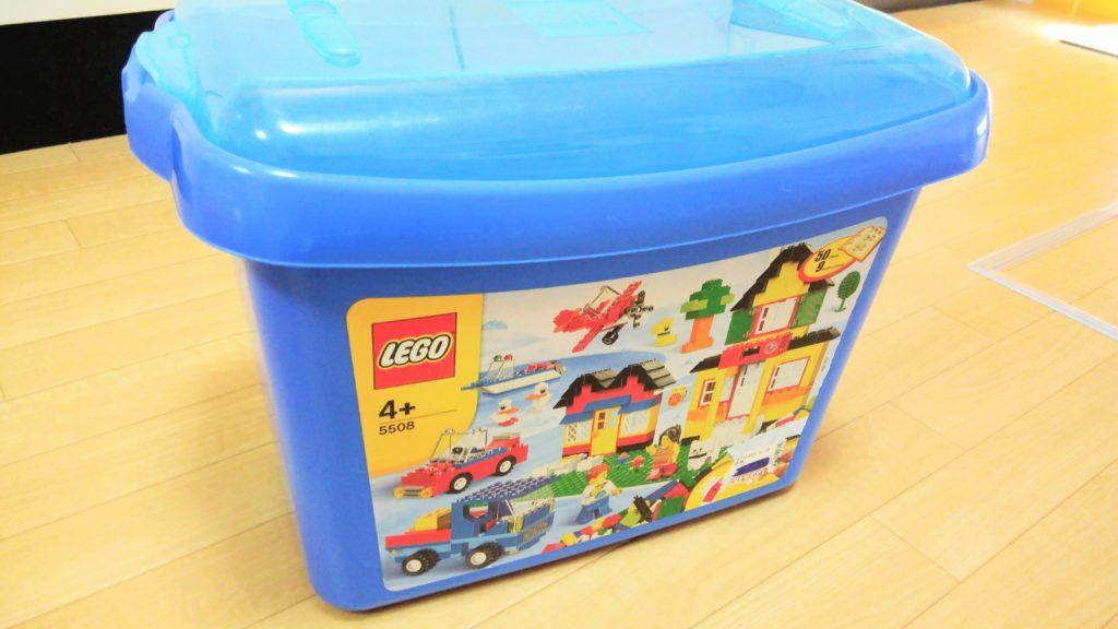 レゴブロックの箱