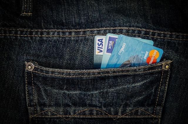 ポケットに入ったカード